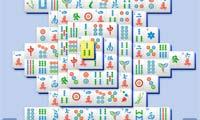 Mahjong Bleu