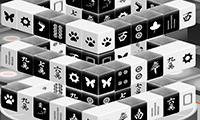 Mahjong Black and White Dimension